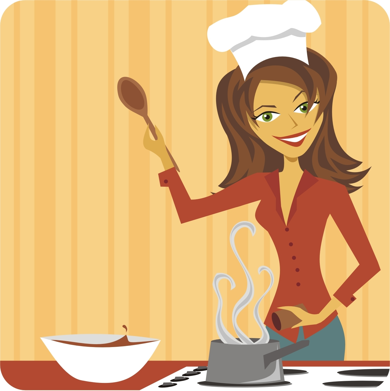 lady chef Gallery