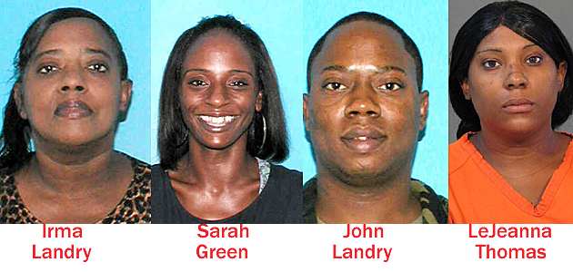 Suspects in Chateau Du Lac homicide