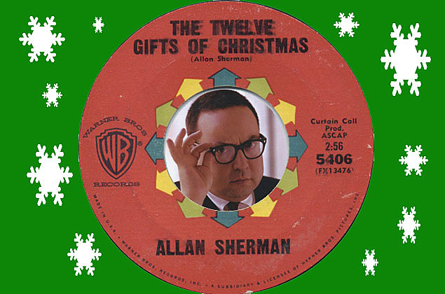 Allan Sherman—The King of Song Parody— 12 Gifts of Christmas [VIDEO]