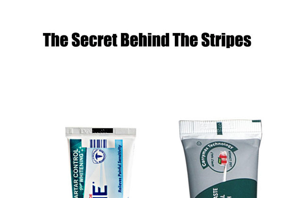 Beware Of Toothpaste Tubes With Black Stripe On Bottom