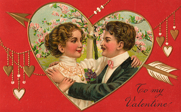 To My Valentine Illustration