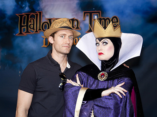 "'Glee' Star Matthew Morrison Celebrates ""Halloween Time"" At Disneyland"